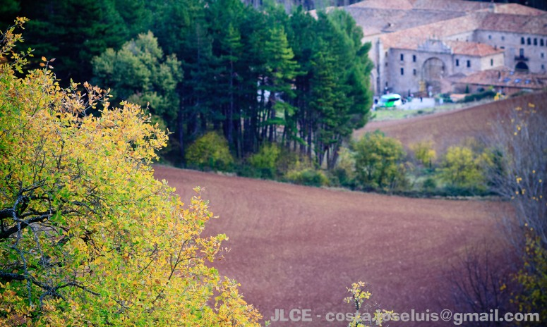 Vista del monasterio de Yuso