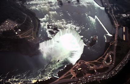 Niagara desde el aire