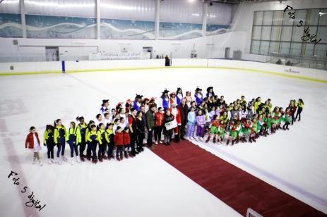 Logroño, La Rioja, gala patinaje hielo navidad 2014
